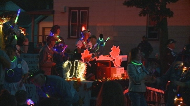 North side lights up for annual Oktoberfest Torchlight Parade