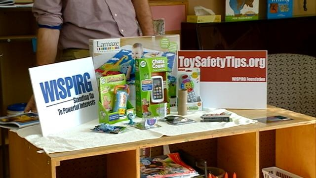 WISPIRG releases annual 'Trouble in Toyland' report