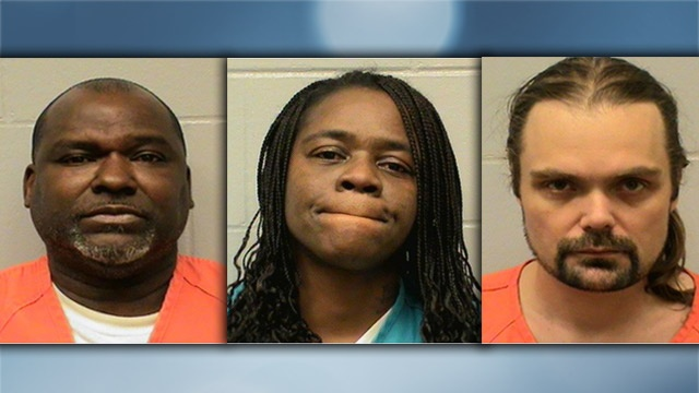 La Crosse police arrest 3 people on drugs charges
