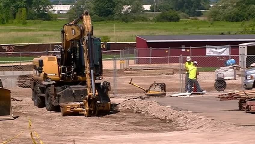 Viterbo athletic fields getting a makeover