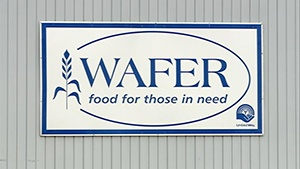 WAFER's need up, food donations down