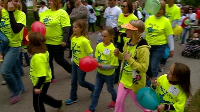 Hundreds participate in 12th annual Walk for a Cure