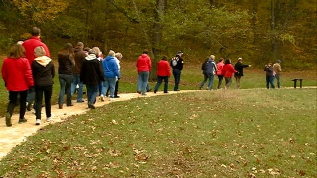 Wisconsin's first lady visits Perrot State Park in Trempealeau