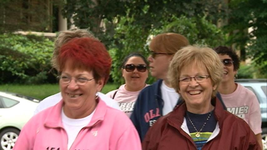 Walking to Support Breast Cancer Patients