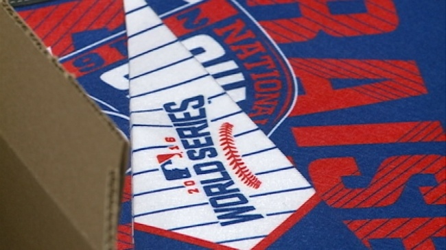 Winona company producing World Series merchandise for excited fans