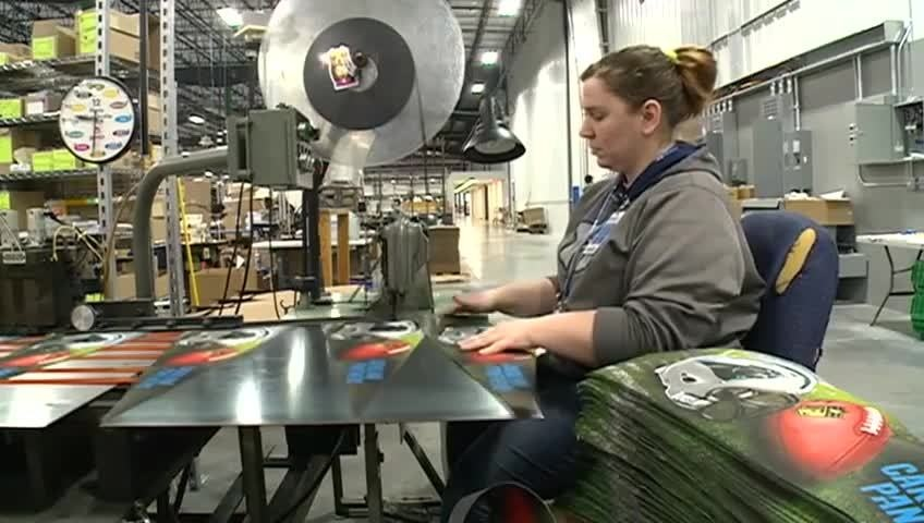 Winona's Wincraft cranking out gear for Super Bowl 50