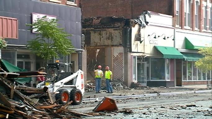 Cause of downtown Winona fire undetermined
