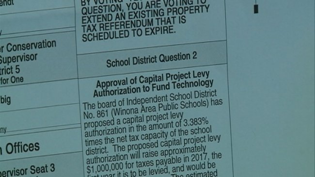Winona schools asking residents to help pay for tech upgrades