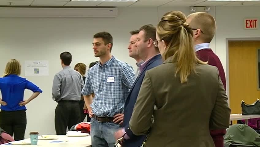 Brainstorming session held for young professionals in La Crosse
