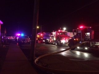 No one hurt in Lansing fire