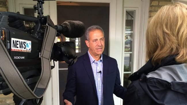 Feingold gives first TV interview after campaign announcement