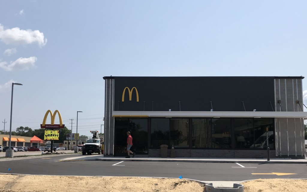 Losey McDonald's grand re-opening