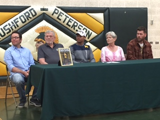 Rushford-Peterson track standout signs with Michigan