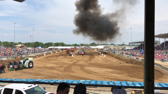 Full Speed Ahead for Tomah's Truck and Tractor Pull!