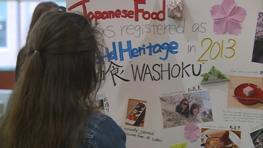 International cultures, food and music celebrated at annual banquet