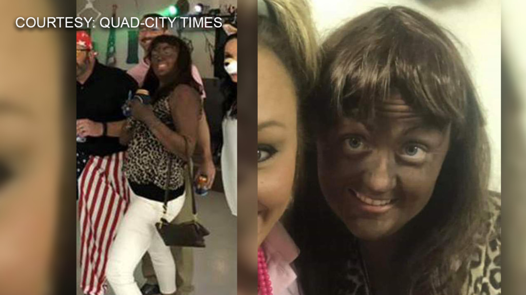 Teacher says she didn't know wearing blackface was offensive