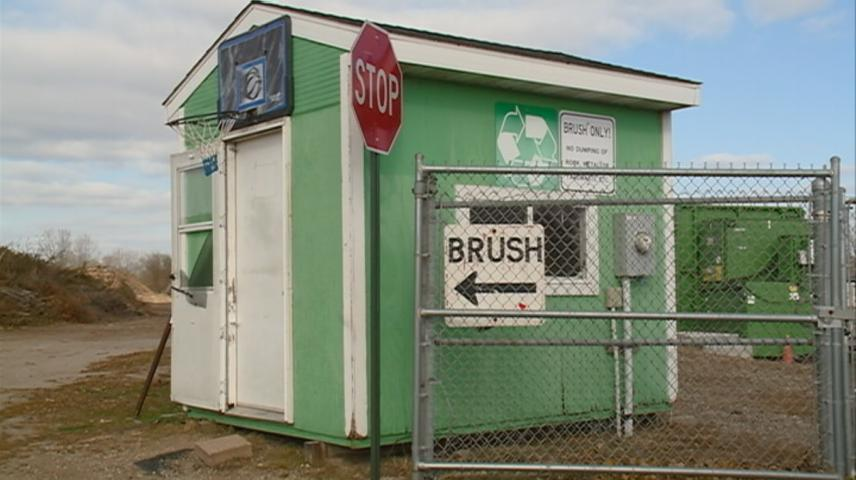 Isle La Plume Yard Waste & Brush site closing for rest of the year
