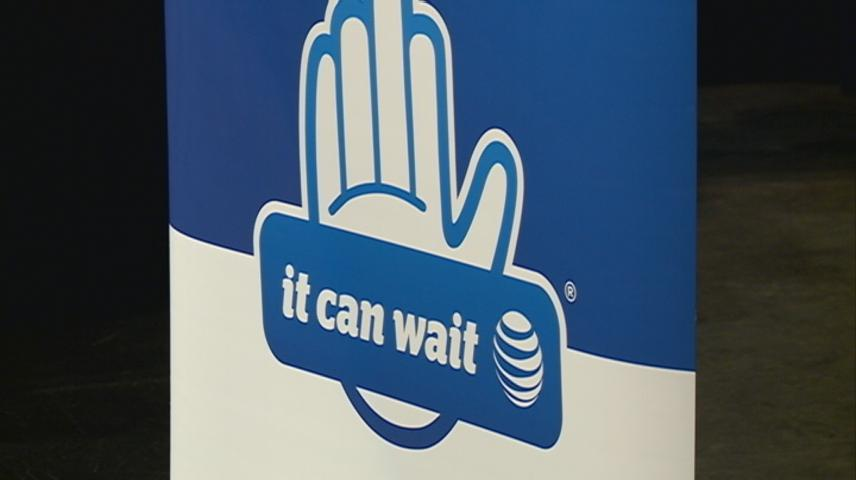 Dangers of texting and driving shown to West Salem students during 'It Can Wait' campaign