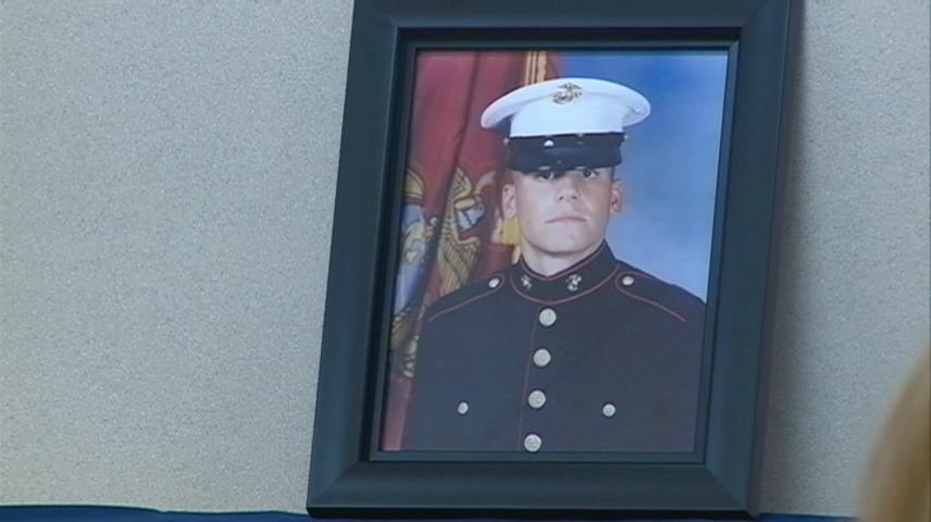 U.S. Senator Baldwin looking to expand veterans' health care law named after Wisconsin marine