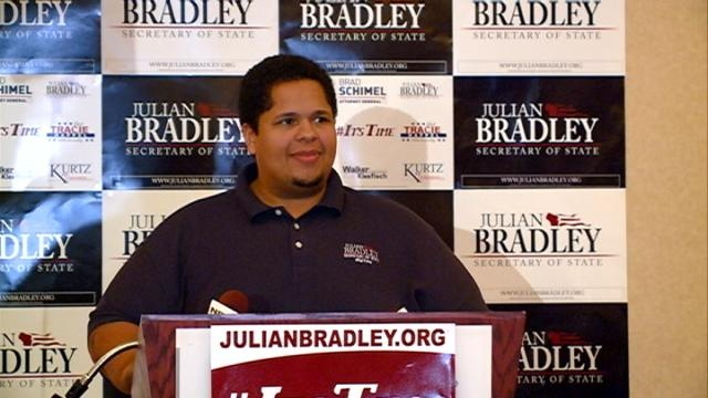 Bradley loses Secretary of State race by 'heartbreaking margin'