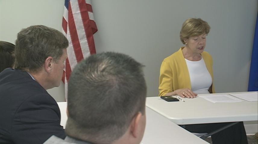 Senator Baldwin, Representative Kind hear local concerns about pre-existing conditions