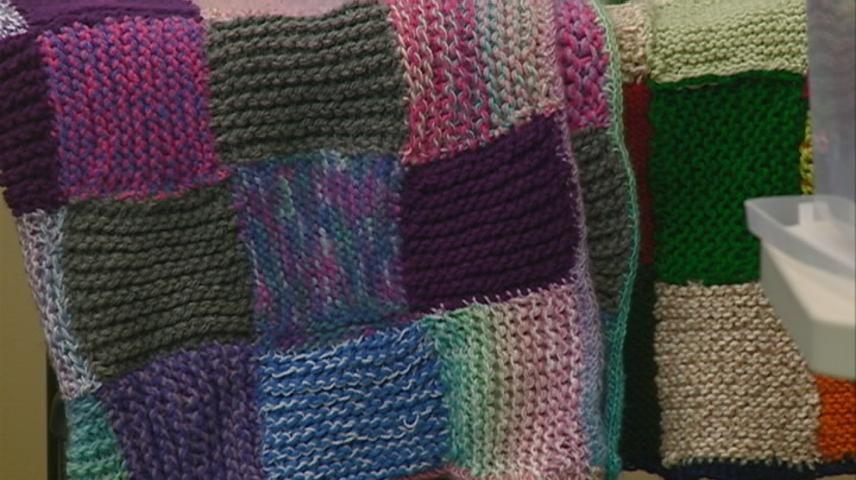 Knit-A-Thon allows students to give back to kids in need