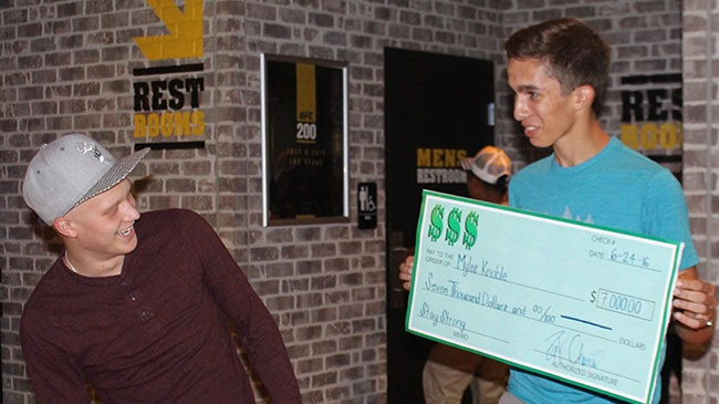 Local teen raises $7,000 for best friend with cancer