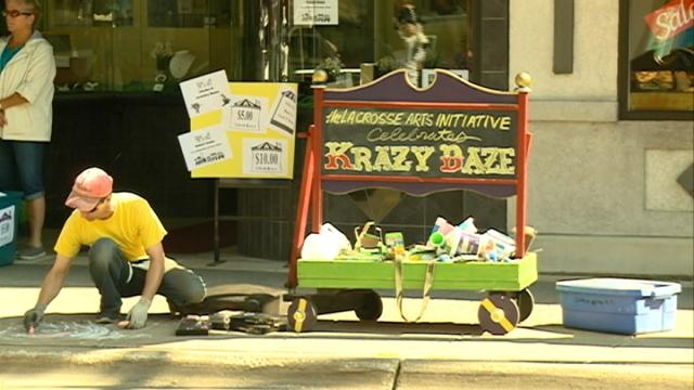 Krazy Daze kicked-off Thursday in La Crosse