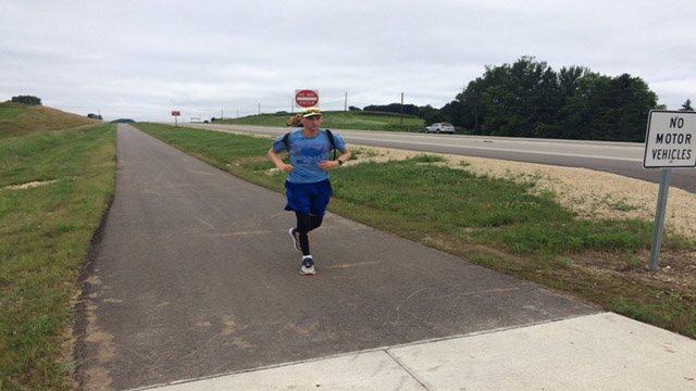 West Salem man completes coast to coast run for charities