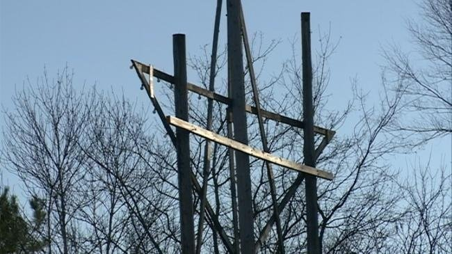 Controversial cross and star display to be moved