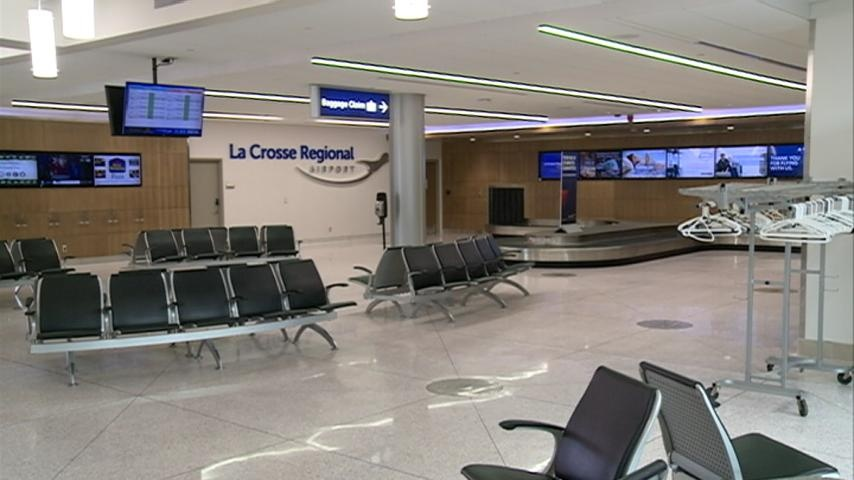 La Crosse airport celebrates remodel, new space for military