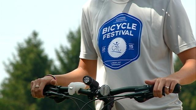La Crosse Bicycle Festival continues through Labor Day weekend