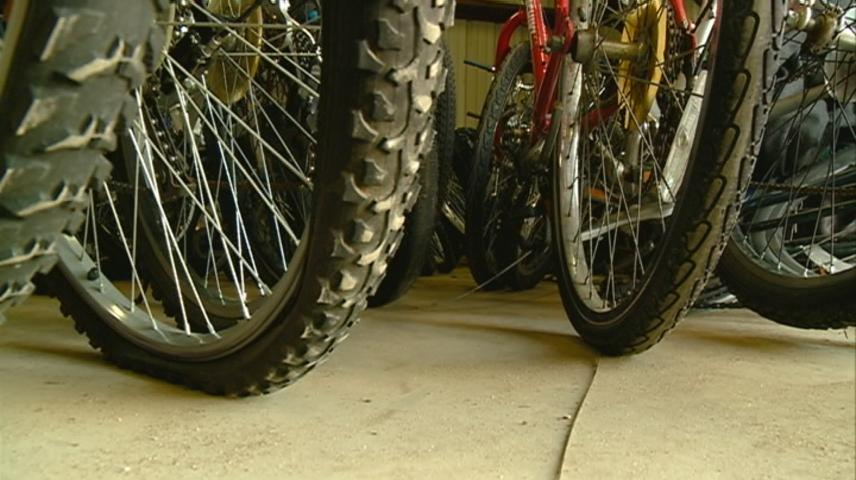 La Crosse Bike Barn holds on to lost, stolen bikes