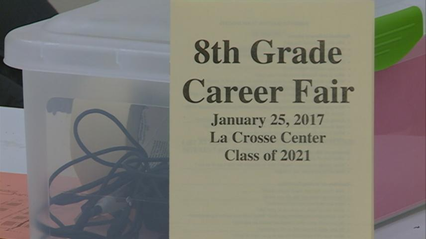 Career Day brings hundreds of students to La Crosse