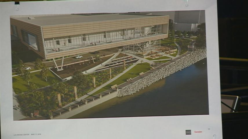 La Crosse Parks Board votes to allow La Crosse Center project to use park space