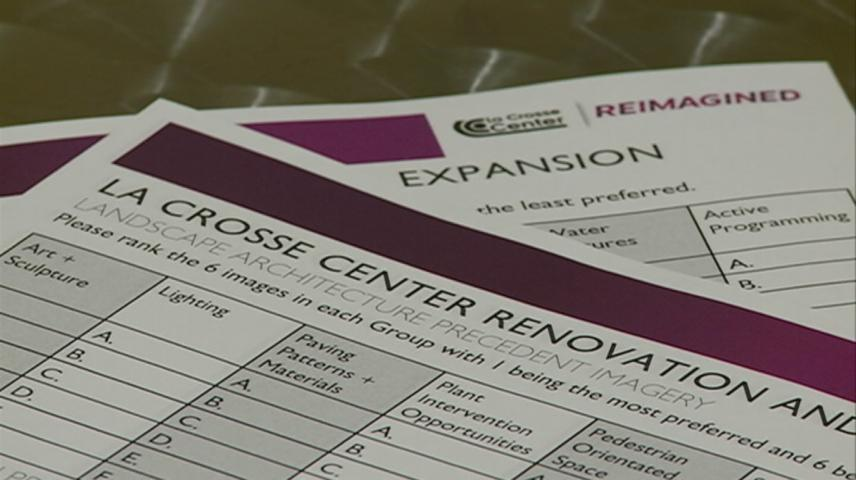 La Crosse Center Board hosts public input session on final pair of plans