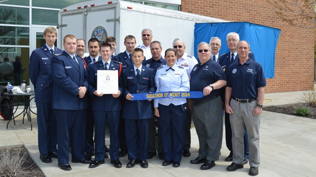 La Crosse Composite Squadron receives award