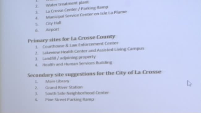 La Crosse city, county considering sites for solar panels