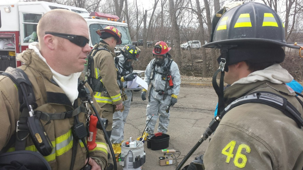 La Crosse hazmat team trains for chemical, biological incidents