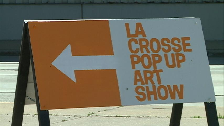 Pop-Up Art Exhibit features local talent for free