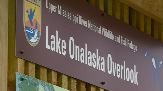 Ribbon cutting ceremony held for Lake Onalaska Overlook