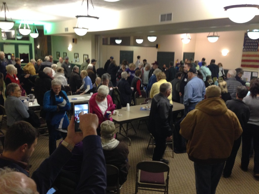 Iowa residents head to the caucuses