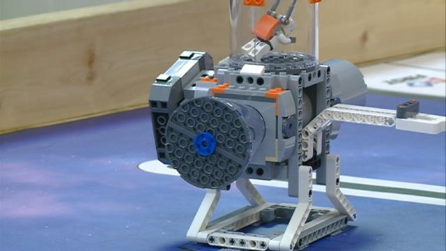 Local fifth grade robotics team moves on to sectional competition