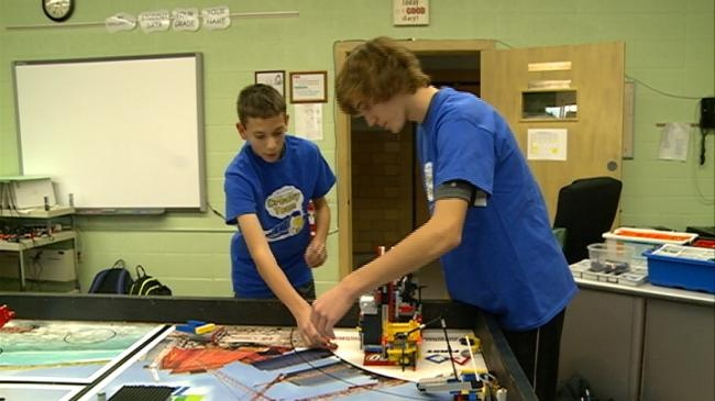 Area students going green with Trash Trek project