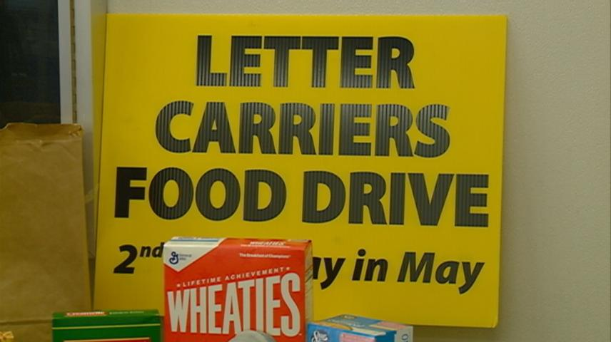 Local letter carriers picking up food donations for largest single-day food drive in U.S.