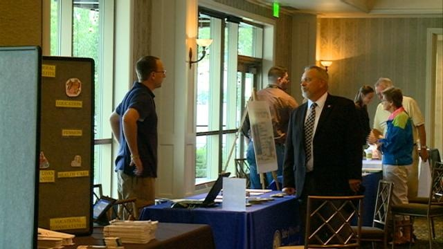 Veterans benefit expo held at Logistics Health Incorporated