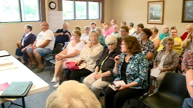 Standing room only for library listening session