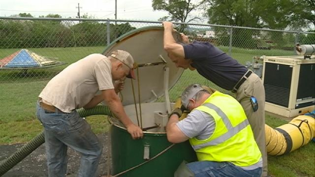 Heavy rains cause problems for the Town of Campbell