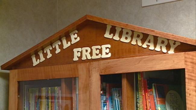 Mayo opens 'Free Little Library' at Family Health Clinic