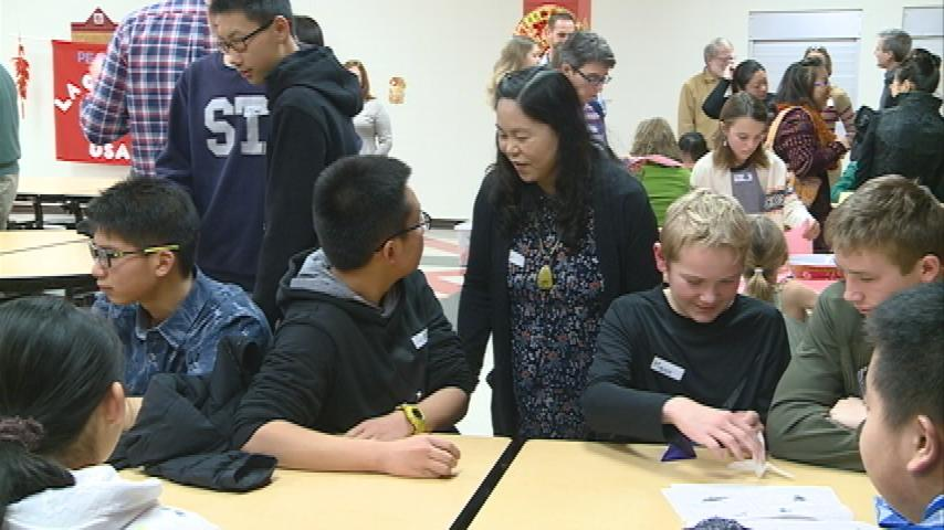 International group welcomes Chinese students